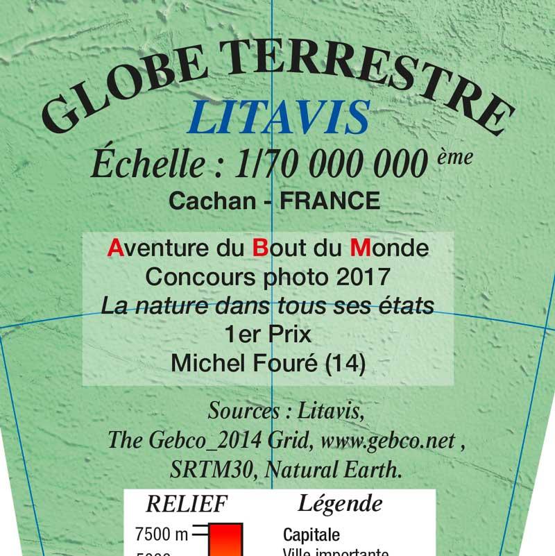 Globe Litavis, premier prix du concours photo des aventuriers du bout du monde.
