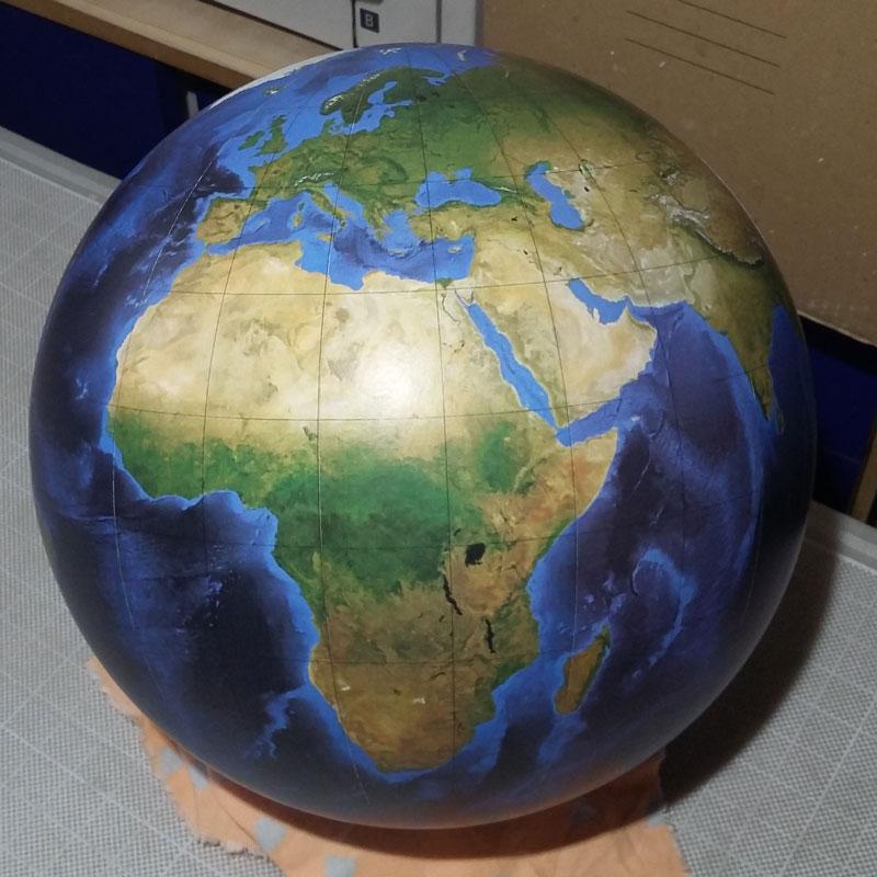 Globe terrestre muet Litavis la terre vue du ciel