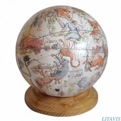 Globe céleste de Nicolas Bion