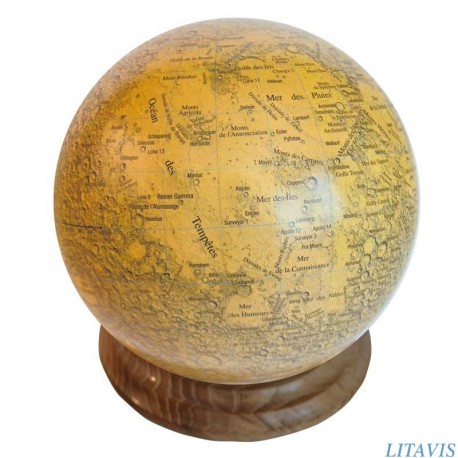 Globe lunaire