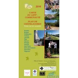 Carte touristique du Leff Communauté, Plan de Châtelaudren
