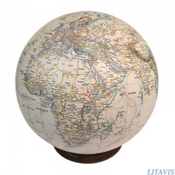 Globe S-70 ivoire style ancien