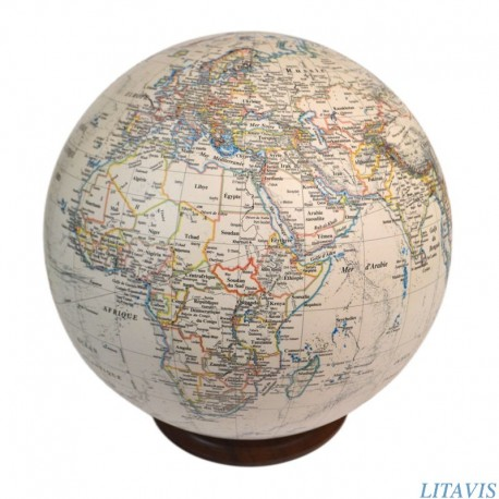 Globe S-70 ivoire style ancien