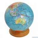 Globe de la fin de la dernière période glacière