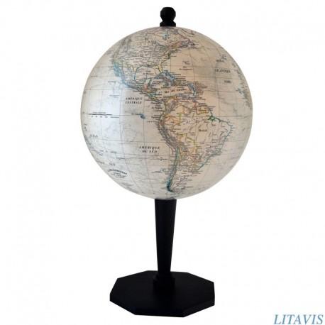 Globe terrestre S50 style ancien