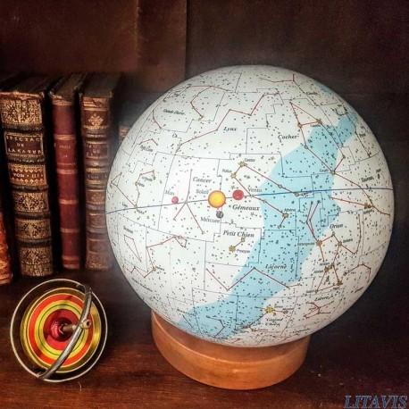 globe céleste de naissance litavis, venus