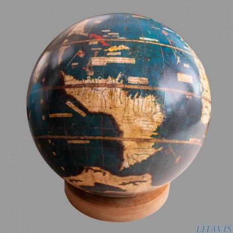 Globe vert de Martin Waldseemüller